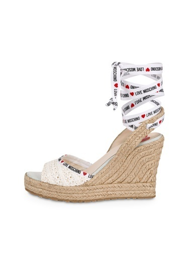 Love Moschino   Topuklu Ayakkabı Kadın Ayakkabı Ja1611Aı0Ajq0100 Bej